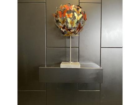 Danjouboda-Objet-de-decoration-en-metal-avec-motif-papillons