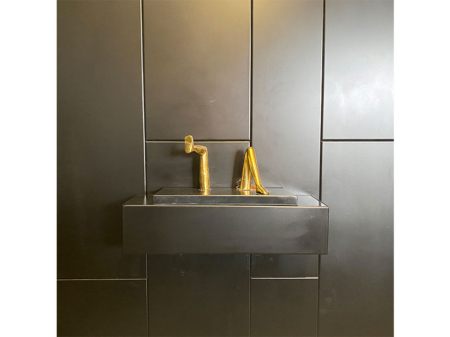 Danjouboda-objet-de-decoration-porte-livre-dore
