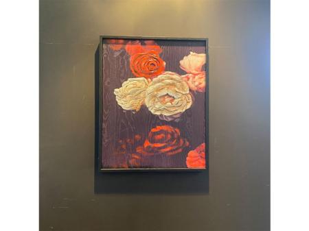 Danjouboda-tableau-en-bois-motifs-roses-rouges-et-blanches