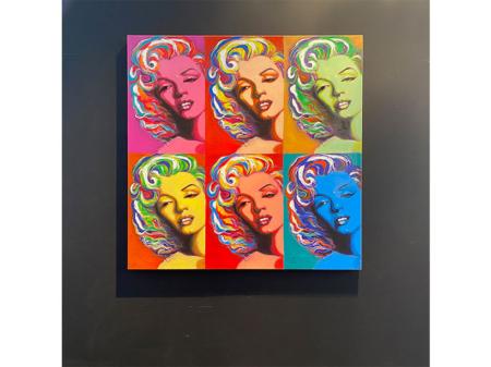 Danjouboda-tableau-inspiration-Andy-Wharol-visage-Marilyn-Monroe-6