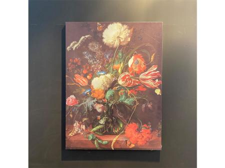 Danjouboda-tableau-metallique-motif-bouquet-de-fleurs-dans-les-tons-rouge
