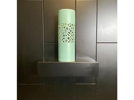 Danjouboda-vase-avec-detail-couleur-vert-d-eau