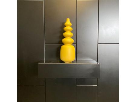 Danjouboda-vase-long-jaune