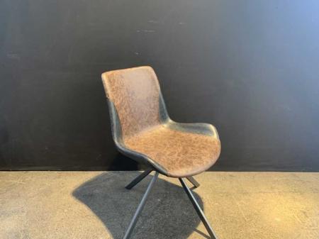 chaise-industriel-metal-cuir-danjouboda